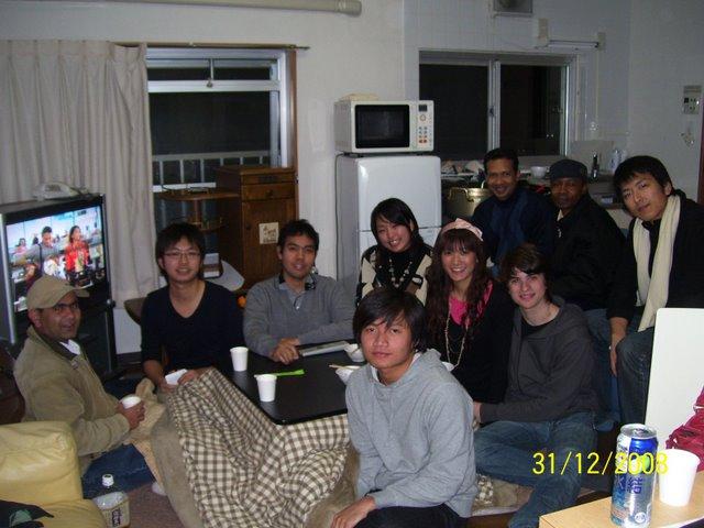Menjelang Tahun Baru di Lounge HIH Hiyoshi