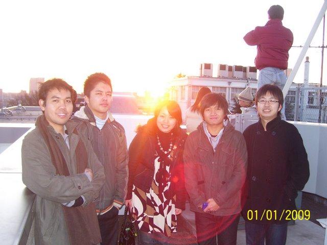 Erwin, Hiro, Eri, Sandy, Takuzo