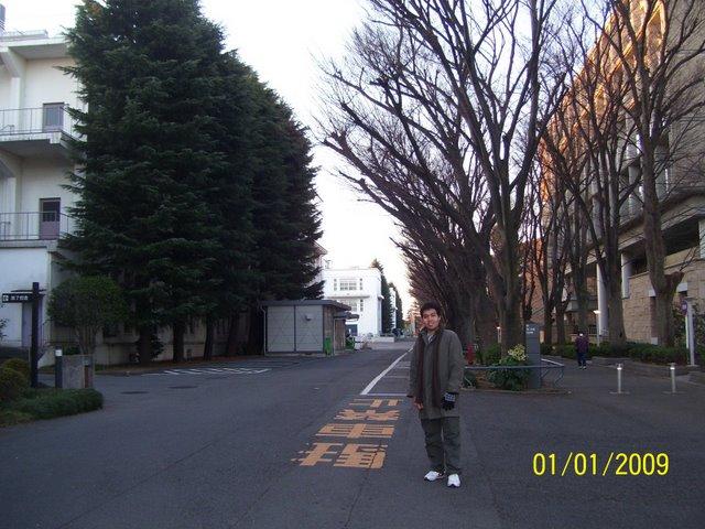 Keio Univ, Kampus Hiyoshi